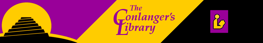 Conlanger's Library Banner designed by David J.   Peterson